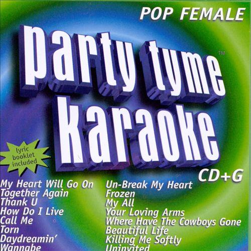 Party Tyme Karaoke: Pop Female