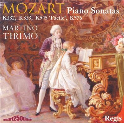 Mozart: Piano Sonatas K332, 333, 545 'Facile' & 576