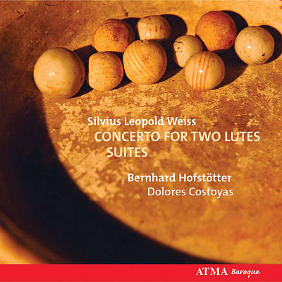 Silvius Leopold Weiss: Concerto for Two Lutes; Suites