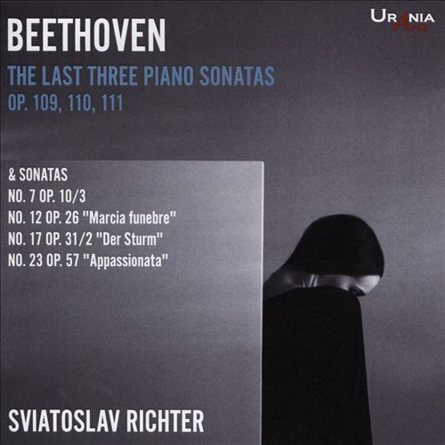 Beethoven: The Last Three Piano Sonatas Op. 109, 110, 111