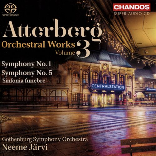 Atterberg: Orchestral Works, Vol. 3