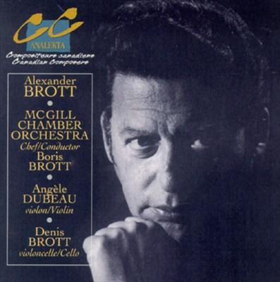 Brott: Violin Concerto, Arabesque, etc.