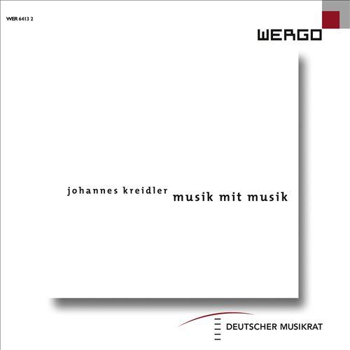 Johannes Kreidler: Musik mit Musik