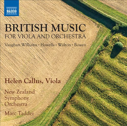 British Music for Viola and Orchestra