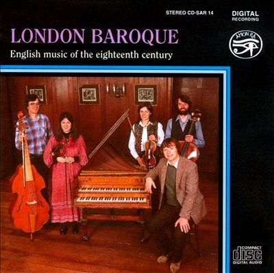 English Music of the Eighteenth Century