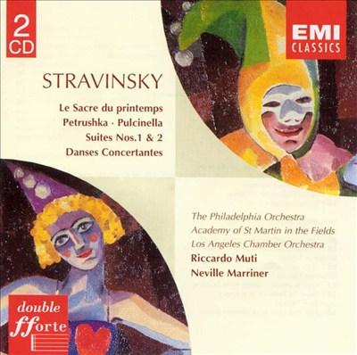 Stravinsky: Le Sacre du Printemps, etc.