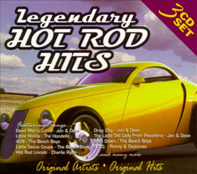 Legendary Hot Rod Hits, Vol. 1-3