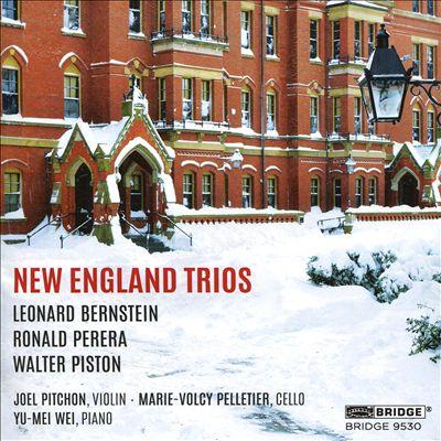 New England Trios: Leonard Bernstein, Ronald Perera, Walter Piston