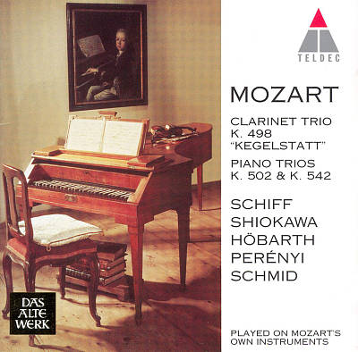 Mozart: Trios K.498, 502, 542