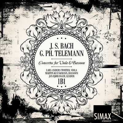 Bach, Telemann: Concertos for Viola & Bassoon