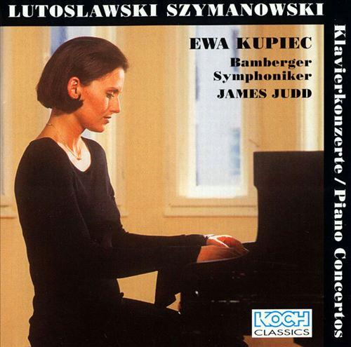 Witold Lutoslawski, Karol Szymanowski: Piano Concertos