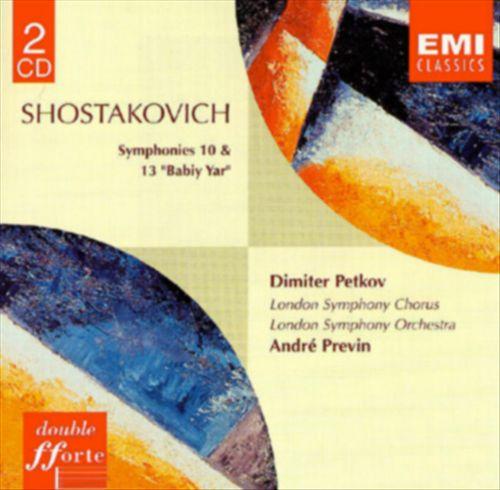 Shostakovich: Symphonies 10 & 13