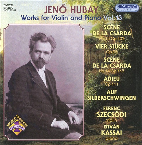 Jean Hubay: Works for Violin & Piano, Vol. 13