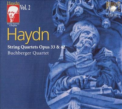 Haydn: String Quartets Opus 33 & 42
