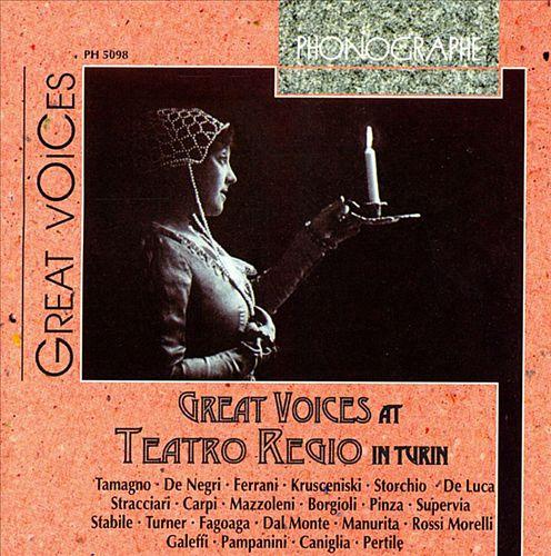 Great Voices at Teatro Regio in Turin
