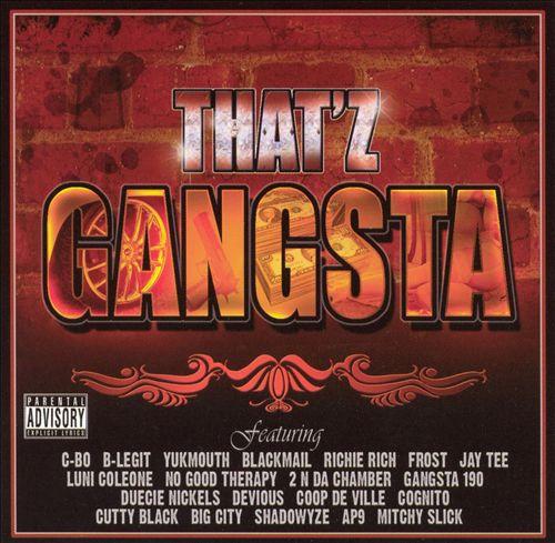 Thatz Gangsta, Vol. 1