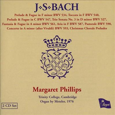 Bach: Organ Works, Vol. 4