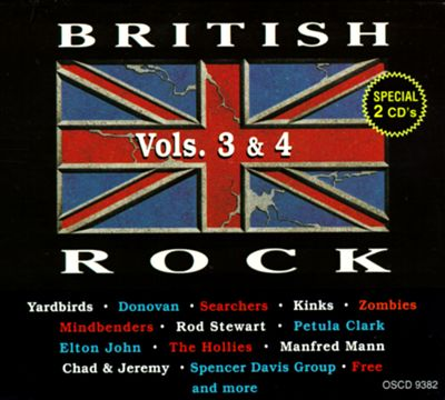 British Rock, Vols. 3-4