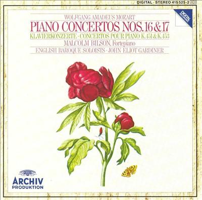 Mozart: Piano Concertos Nos. 16 & 17