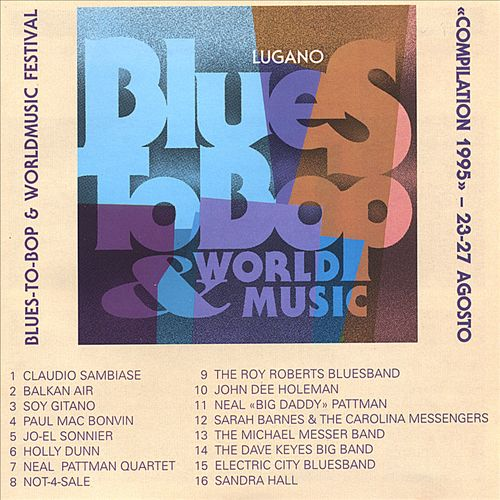 Blues to Bop Festival 1995