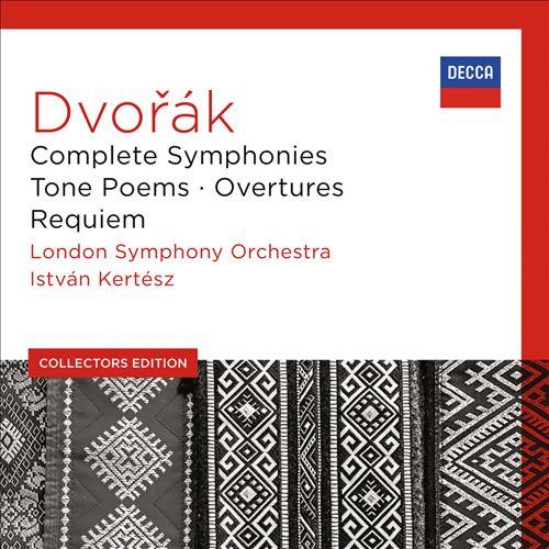 Dvorák: Complete Symphonies; Tone Poems; Overtures; Requiem