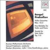 Prokofiev: Violin Concertos Nos. 1 & 2; Five Melodies for Violin & Piano; Sonata for Solo Violin