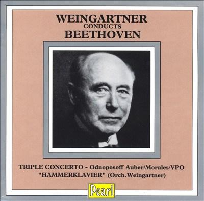 Felix Weingartner Conducts Beethoven