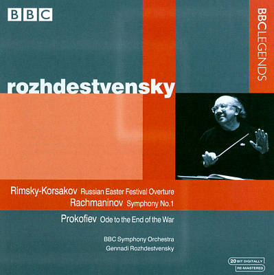 Rimsky-Korsakov; Russian Easter Festival Overture; Rachmaninov: Symphony No. 1; Prokofiev: Ode to the End of the War